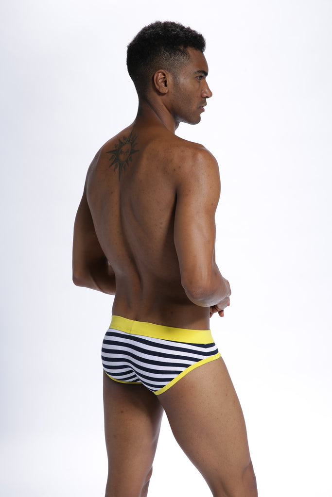 LABEL FREE Stripy Briefs
