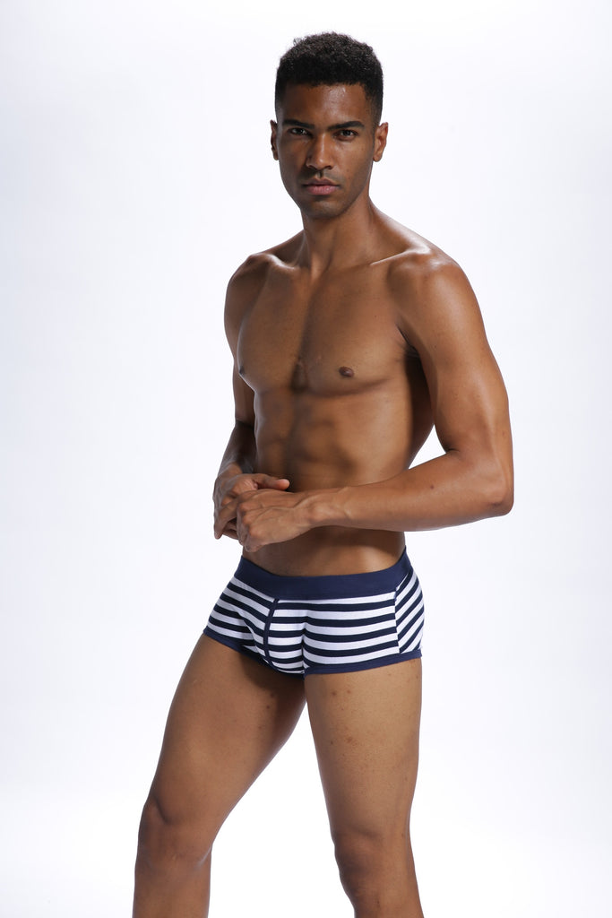 LABEL FREE Stripy Boxers
