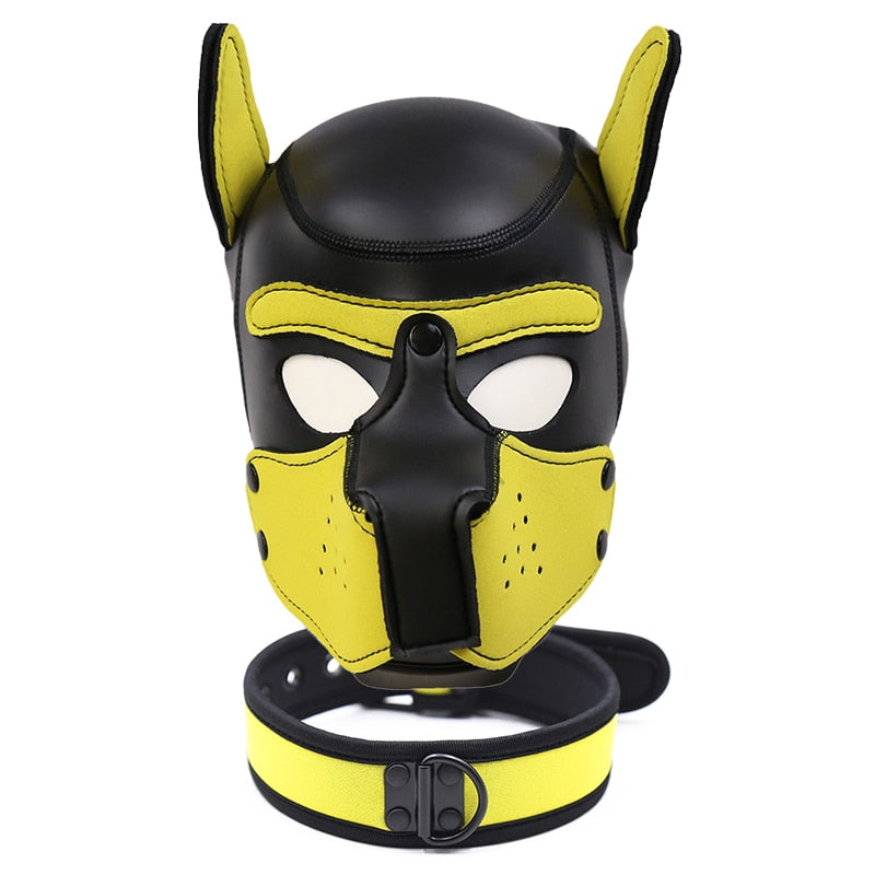 Pup Mask + Collar
