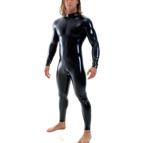 Black Kink Zentai Suit