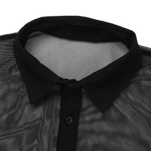 Load image into Gallery viewer, Mesh Collar Shirt