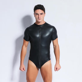 Pleather Bodysuit