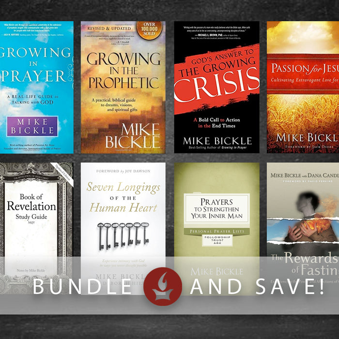 Mike Bickle Book Collection Bundle