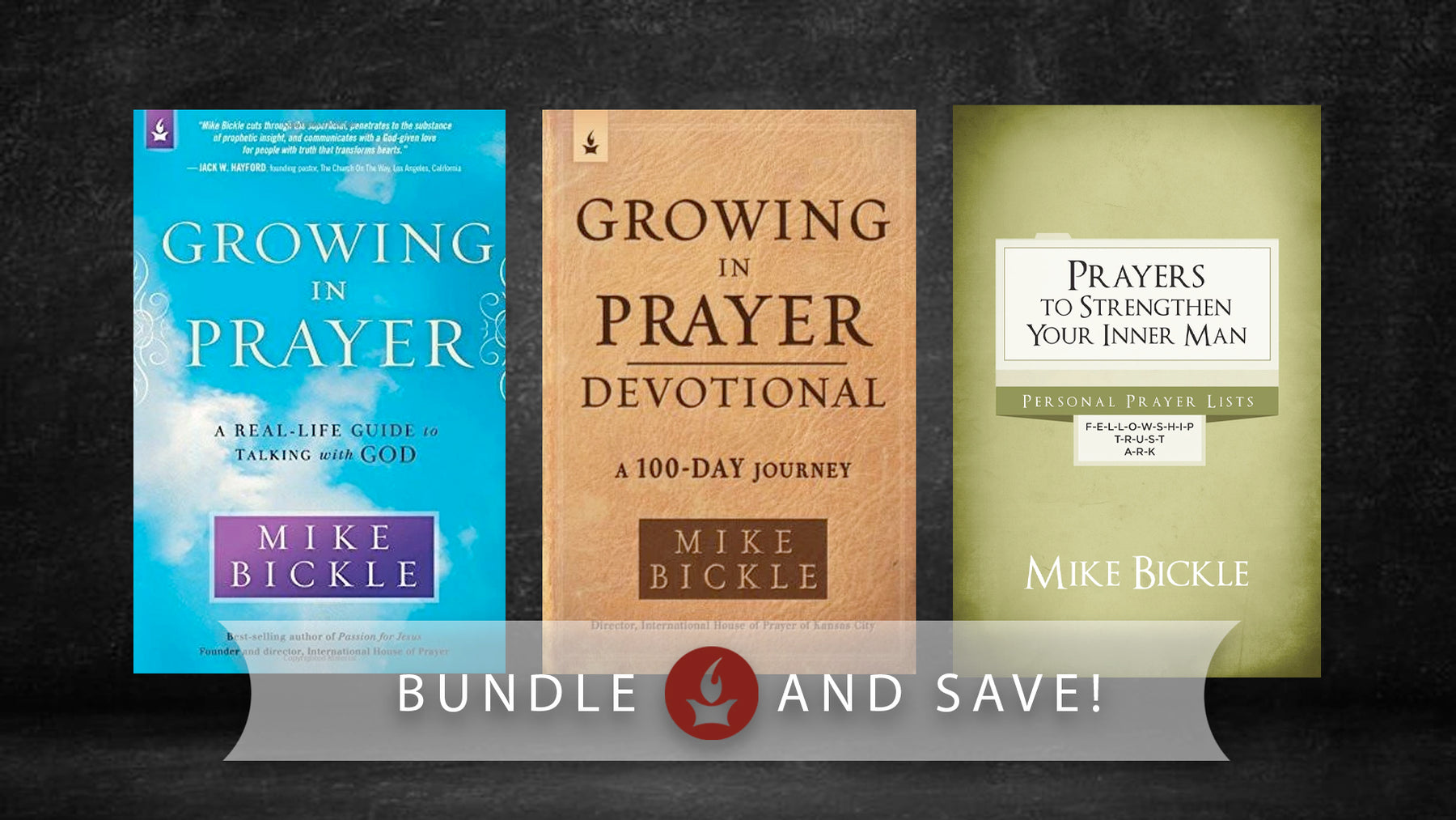 Mike Bickle Prayer Bundle