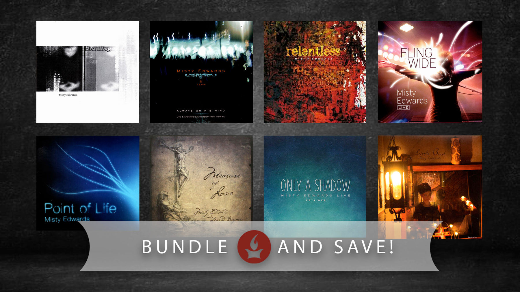 Misty Edwards Album Collection Bundle