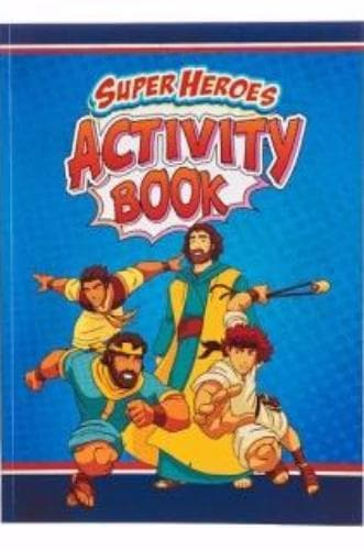 Super Heroes Activity Book - Books - Christian Arts & Gifts - Forerunner Bookstore Online Store