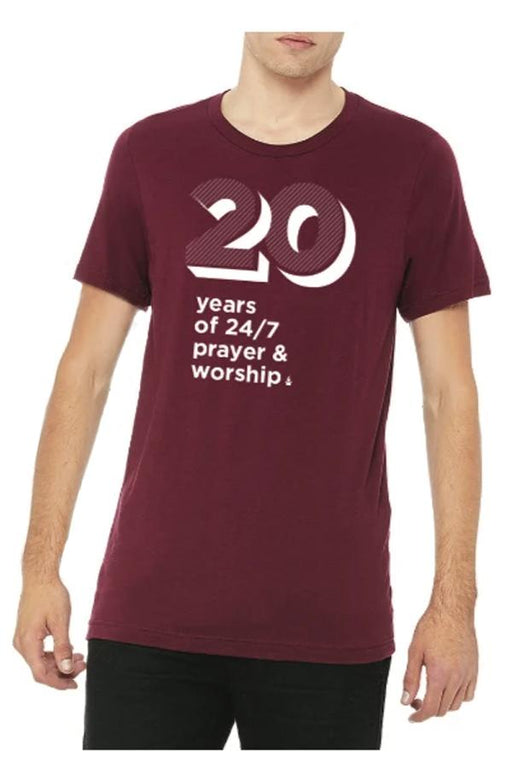 20 Years 24/7 Prayer Tee