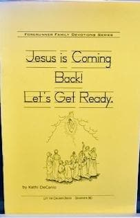 Jesus is Coming Back! Let's get ready