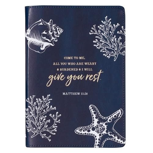 Give You Rest Slimline LuxLeather Journal