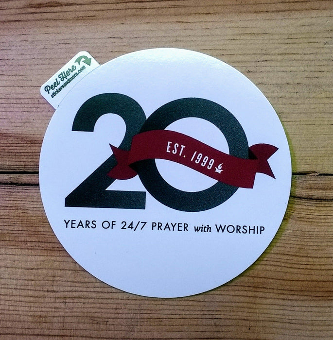 20th Anniversary Sticker