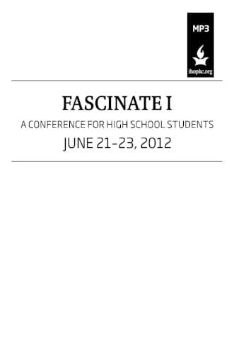 Fascinate 2012 Conference Media-Media-Forerunner Bookstore-Fascinate 1-MP3 Download-Forerunner Bookstore Online Store
