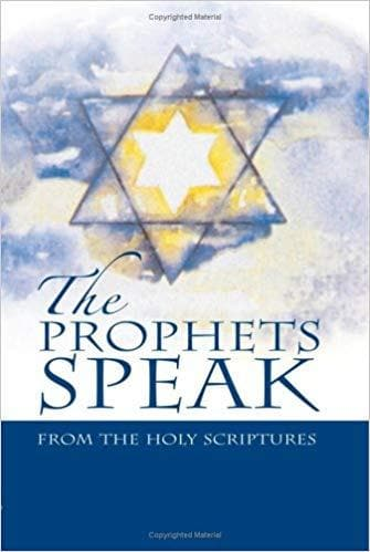 The Prophets Speak Hardcover