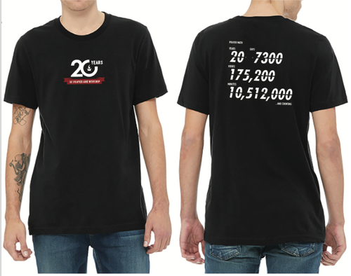 20Years & Counting Tee - Merchandise: Clothing - Forerunner Bookstore - Forerunner Bookstore Online Store