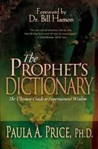 Prophets Dictionary - Books - Price, Paula - Forerunner Bookstore Online Store