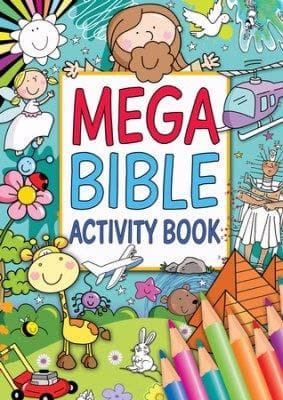 Mega Bible Activity Book - Books - Candle Book - Forerunner Bookstore Online Store