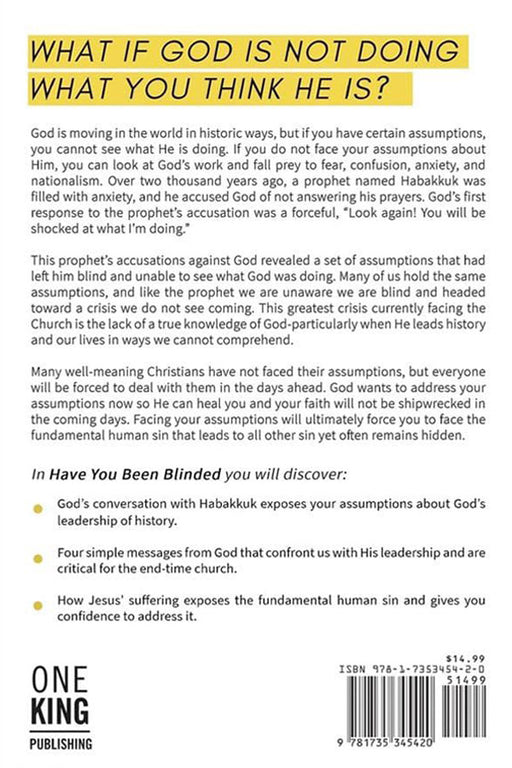Have You Been Blinded?: Facing Your Assumptions about God's Leadership