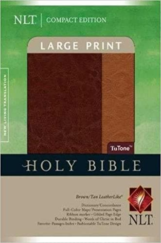 NLT2 Compact Edition-Brown/Tan TuTone - Books - NLT - Forerunner Bookstore Online Store