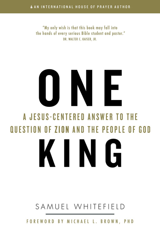 One King: A Jesus-Centered Answer to the Question of Zion and the People of God