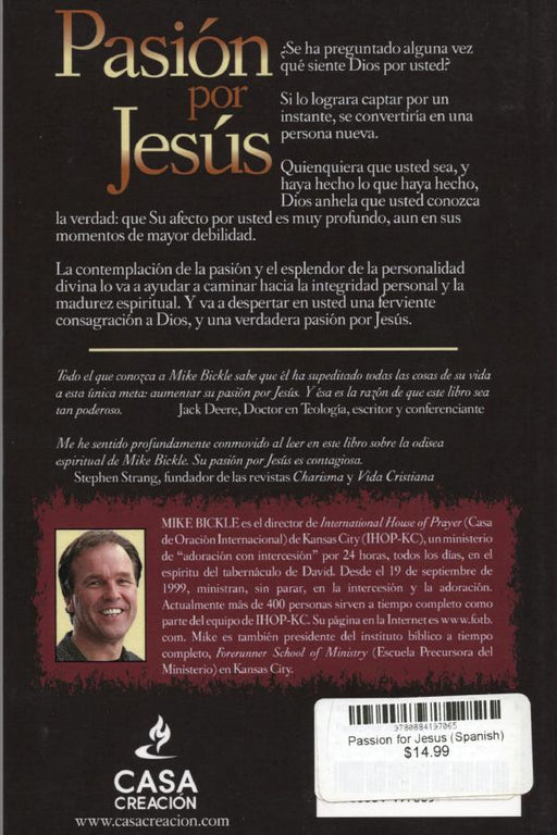 Passion for Jesus (Spanish) - Pasion por Jesus - Forerunner Bookstore Online Store
