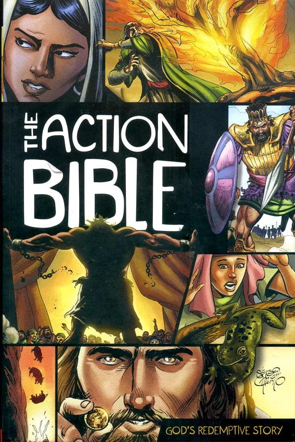 The Action Bible Illustrated version