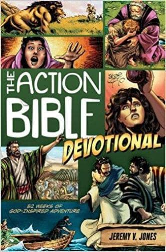The Action Bible Devotional - Books - Jones, Jeremy V. - Forerunner Bookstore Online Store