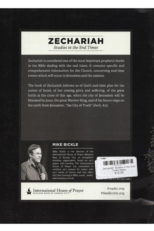 Zechariah: Studies in the End Times Notes - Forerunner Bookstore Online Store