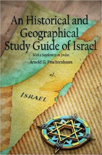A Historical and Geographical Study Guide of Israel - Books - Fruchtenbaum, Dr. - Forerunner Bookstore Online Store
