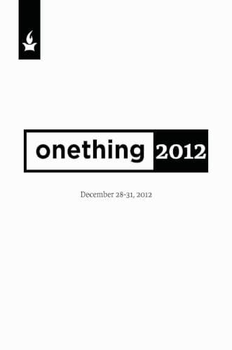 onething 2012 Conference Media-Media-Forerunner Bookstore-MP3 Download-Forerunner Bookstore Online Store
