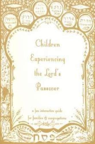 Children Experiencing Passover - Books - Visual Story Bible Ministries - Forerunner Bookstore Online Store