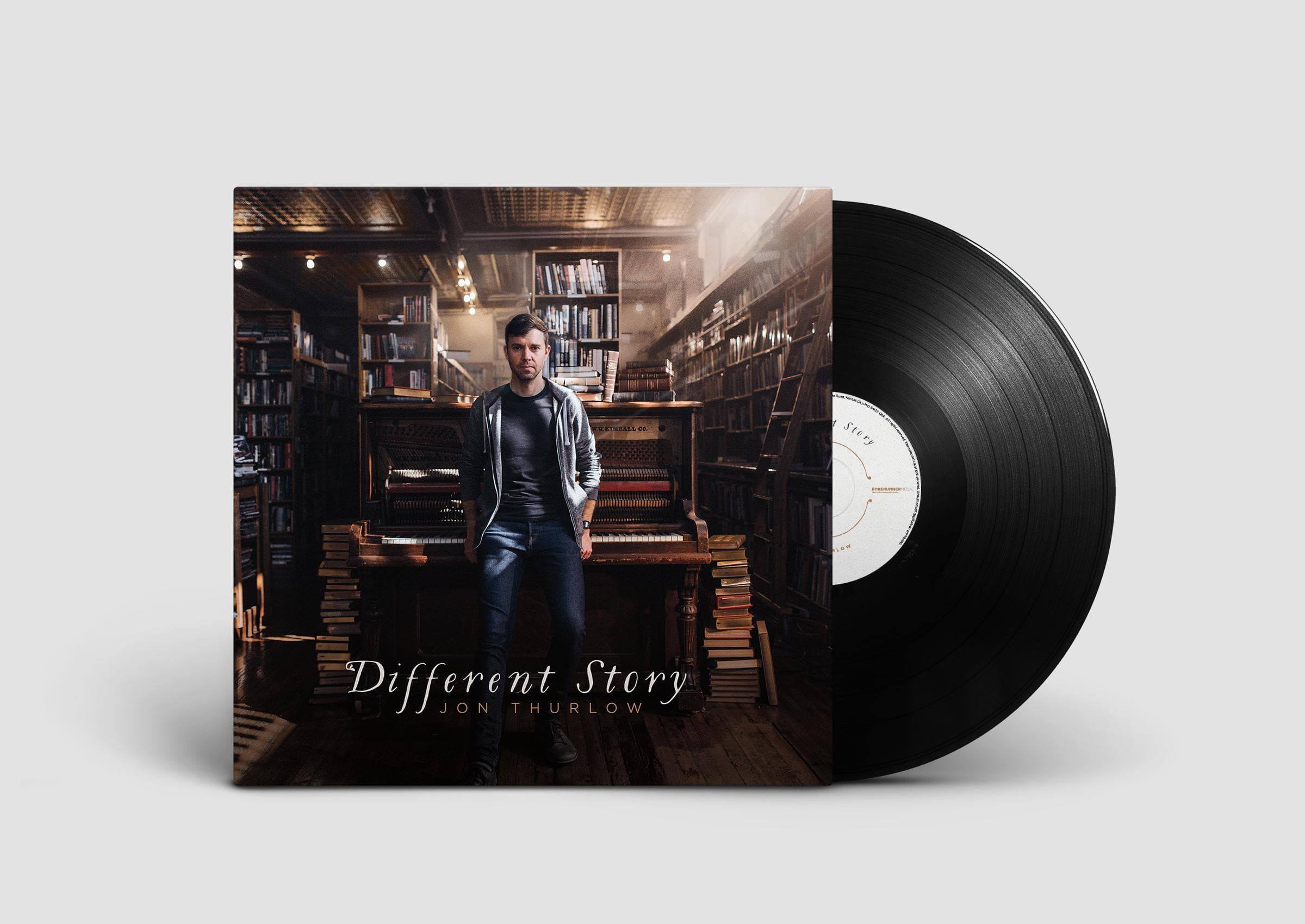 Different Story - Music - Thurlow, Jon - Forerunner Bookstore Online Store