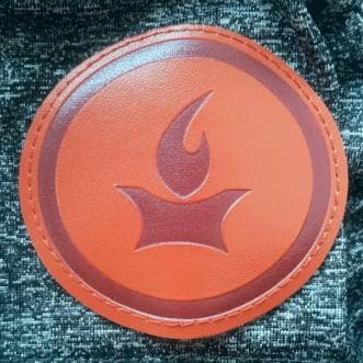 Flame Logo Patch - Merchandise: Other - Forerunner Bookstore - Forerunner Bookstore Online Store