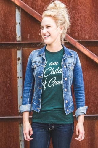 I Am A Child Of God Men's T-Shirt - Merchandise: Clothing - Forerunner Bookstore - Forerunner Bookstore Online Store