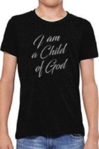 I Am A Child Of God Youth T-Shirt - Merchandise: Clothing - Forerunner Bookstore - Forerunner Bookstore Online Store