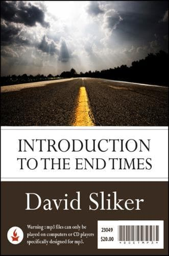 Introduction to the End Times-Media-Sliker, David-MP3 Download-Forerunner Bookstore Online Store