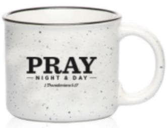 Pray Night and Day Mug - Merchandise: Other - Forerunner Bookstore - Forerunner Bookstore Online Store