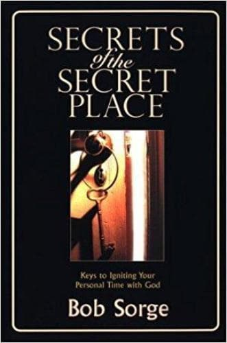 Secrets of the Secret Place (MP3 Series) - Media - Sorge, Bob - Forerunner Bookstore Online Store
