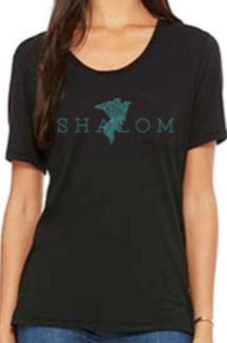 Shalom Woman's Flowy Tee - Merchandise: Clothing - Forerunner Bookstore - Forerunner Bookstore Online Store