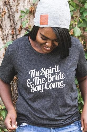 Spirit & The Bride T-Shirt - Merchandise: Clothing - Forerunner Bookstore - Forerunner Bookstore Online Store