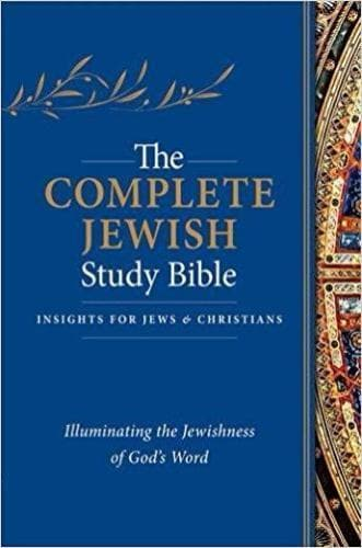 The Complete Jewish Bible Study Bible - Hardback - Books - Rubin, Rabbi Barry - Forerunner Bookstore Online Store