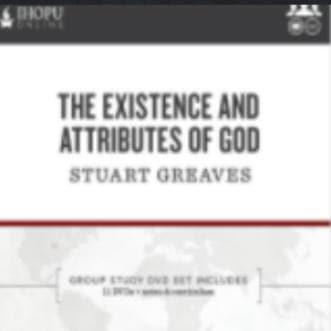 The Existence and Attributes of God (DVD Series) - Media - Greaves, Stuart - Forerunner Bookstore Online Store