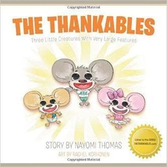 The Thankables - Books - Thomas, Nayomi - Forerunner Bookstore Online Store