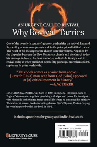Why Revival Tarries - Books - Ravenhill, Leonard - Forerunner Bookstore Online Store