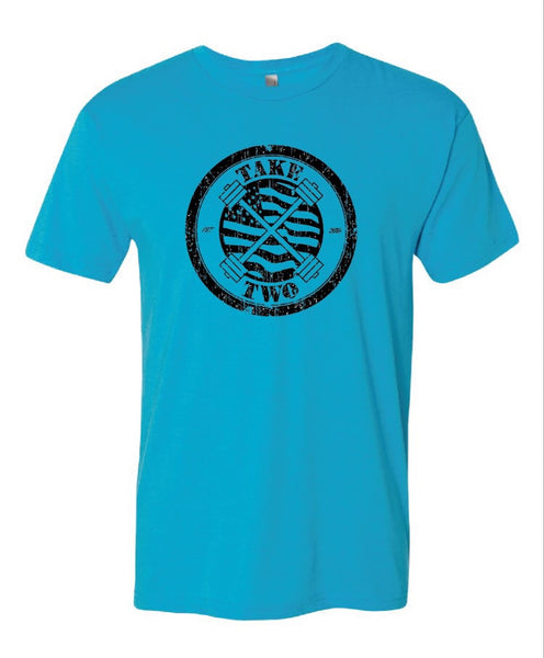Tee - Barbell Club Turquoise