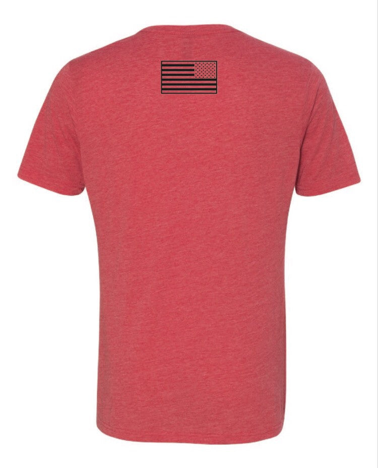 Tee - The Patriot Red/Black
