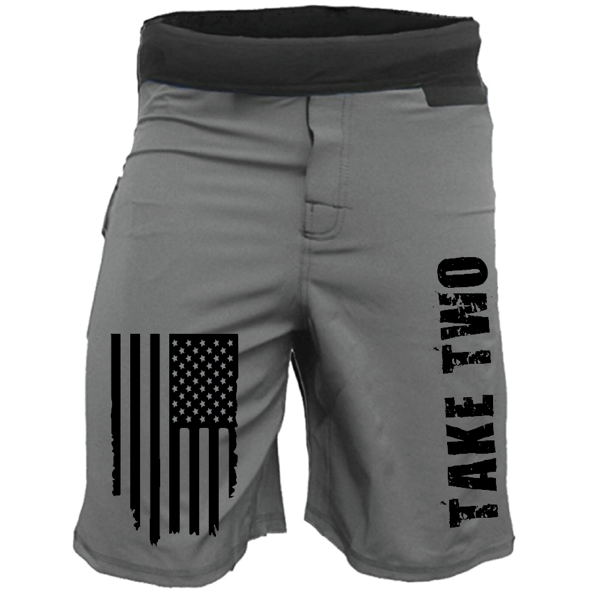WOD Shorts - Grey Grit