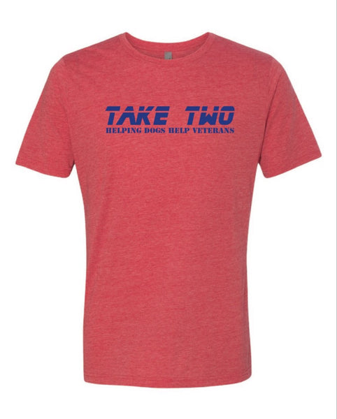 Tee - The Patriot Red/Blue
