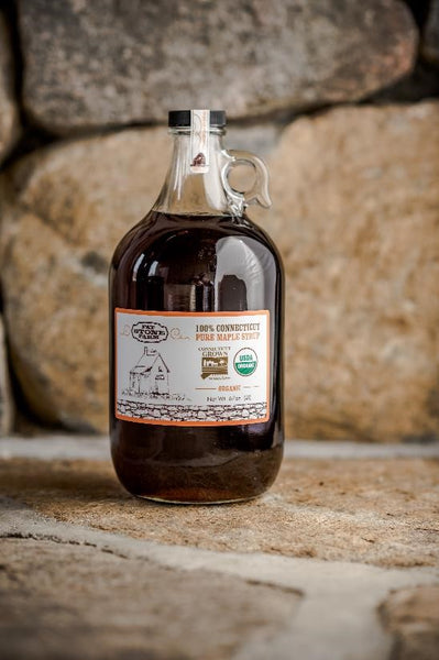 Organic maple syrup, 1/2 gallon