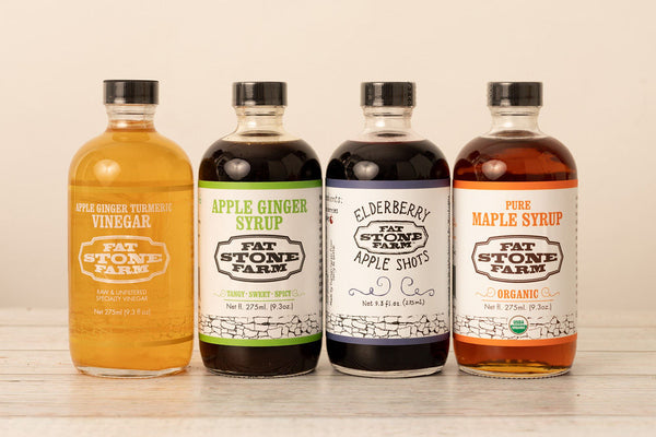 Farm Vinegar and Syrups Pack