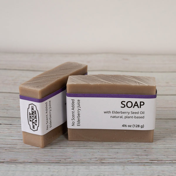 Elderberry Soap No Scent Added