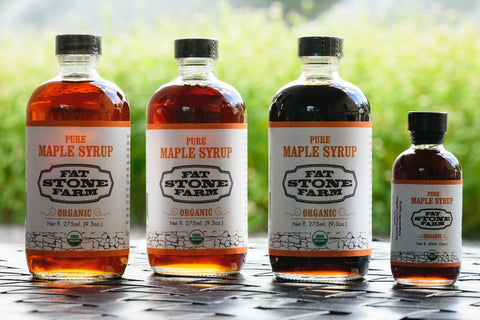 Organic Traditions Maple Syrup, 3 Pack plus gift